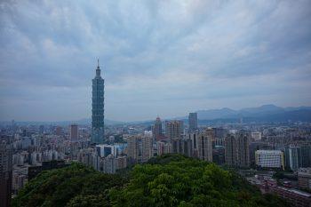 Panorama of Taipei City