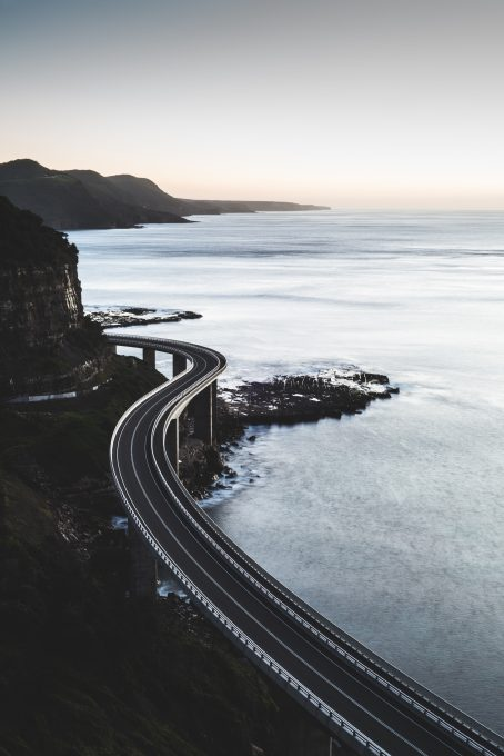 Sea Cliff Bridge. Clifton. Australia