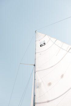 A boat mast