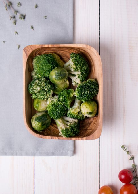 A bowl of vegetables