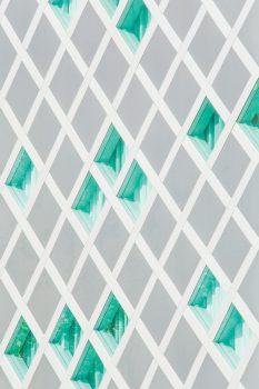 Light texture with rhombs