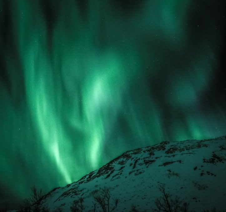 Photo of aurora borealis