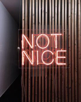 A led signage on a wall
