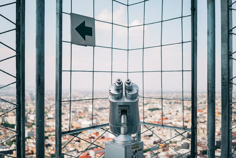 A tower viewer