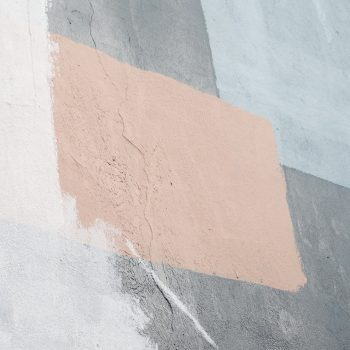 Close-up photo of a painted wall