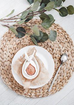 An Easter egg decor