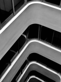 Architectural high-angle photography of a building
