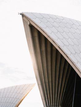 Photo of futuristic architecture