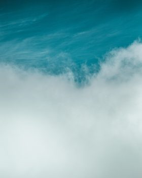 A photo of white clouds