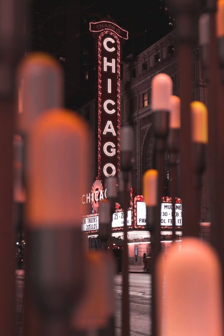 Chicago neon signage