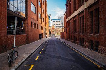 Photo of a quiet street